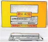 Railking Burlington Pioneer Zephyr