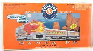 Lionel 21974 Santa Fe Passenger Set