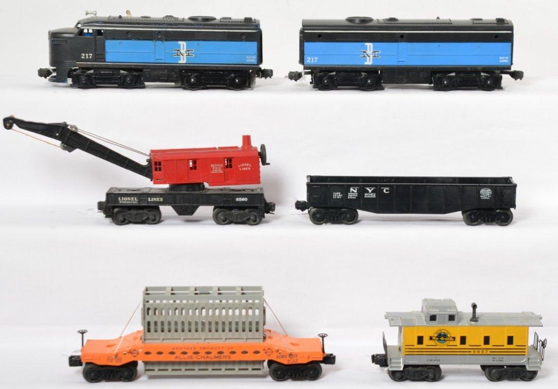 Lionel 217P, 217C, 6062, 6519, 6560, 6657 diesel