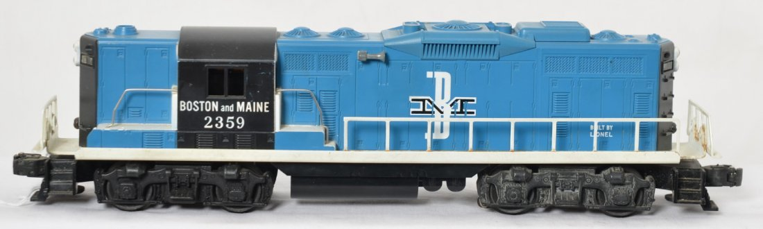 Lionel 2359 Boston and Maine GP-9 diesel locomotive