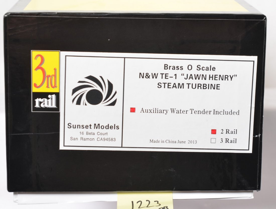 3rd Rail N&W Jawn Henry factory wrapped - 2