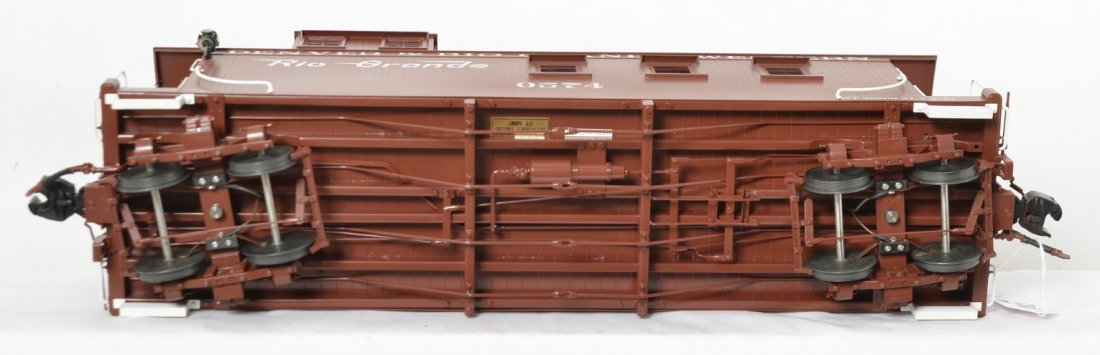 Accucraft Trains AC83-143 D&RGW caboose in OB, BRASS - 4