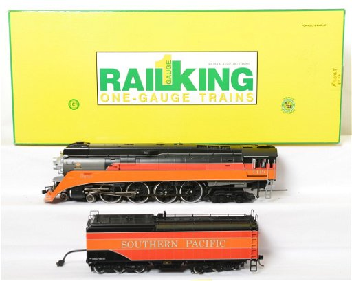 MTH Railking 70-3005-1 SP GS-4 loco w/PS 2 0 in OB