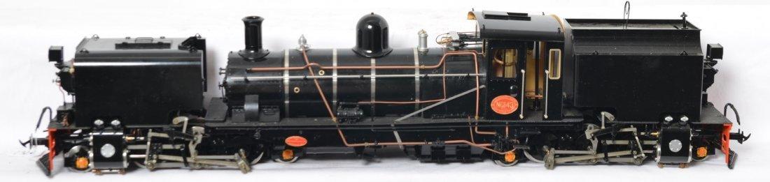 Accucrat live steam NG16 Garratt steam locomotive