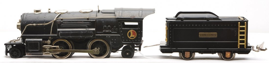 Lionel 259E Black Steam Loco 259T Tender