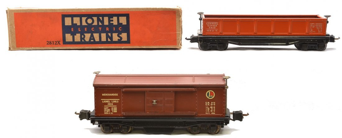 Lionel 3814 Operating Merchandise Car w/Decals