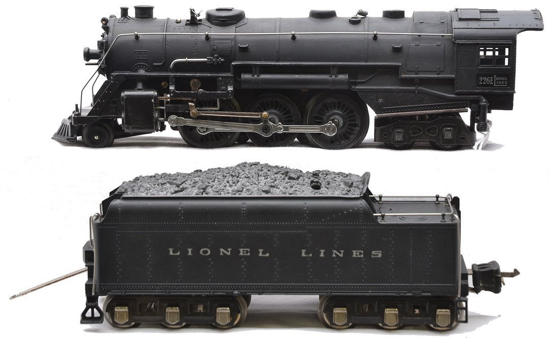 Lionel 226E Black Steam Loco 2226W Tender