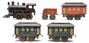 AF Clockwork Litho Train Set by Edmonds-Metzel