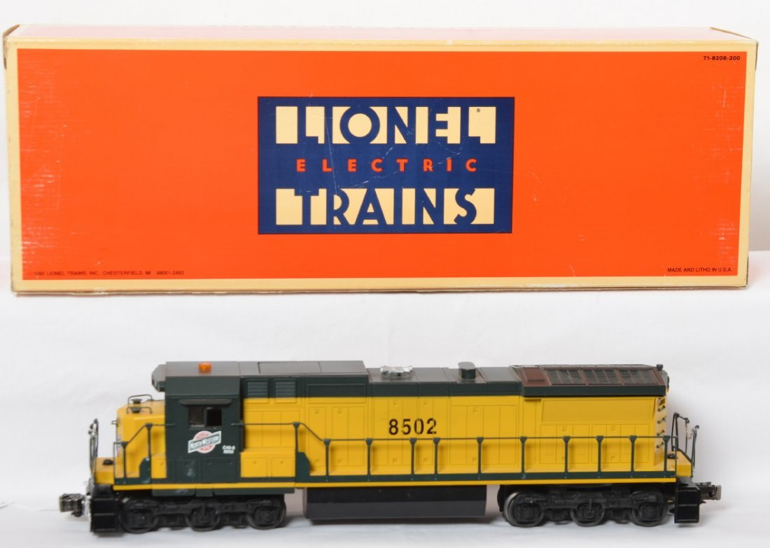 Lionel 18220 C&NW Dash-8 with TMCC