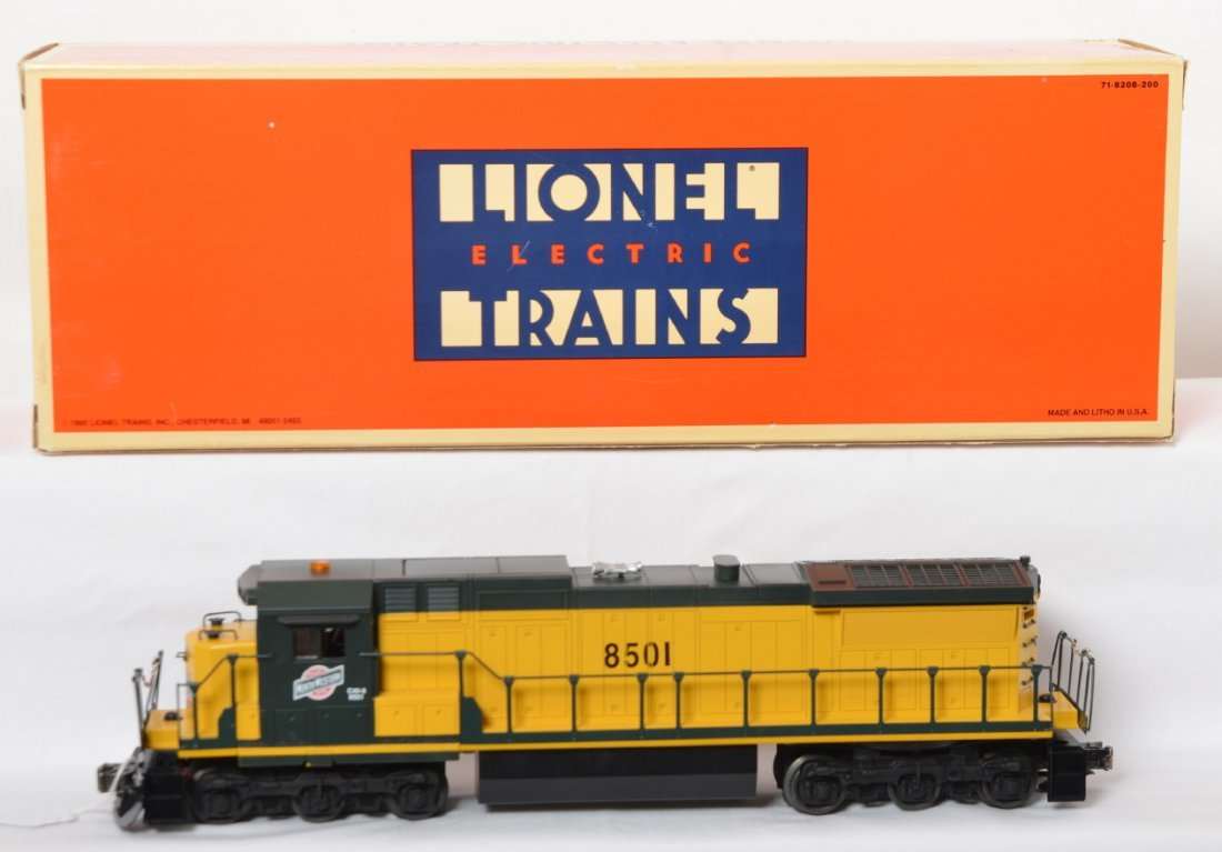 Lionel 18219 C&NW Dash 8 with TMCC and Railsounds