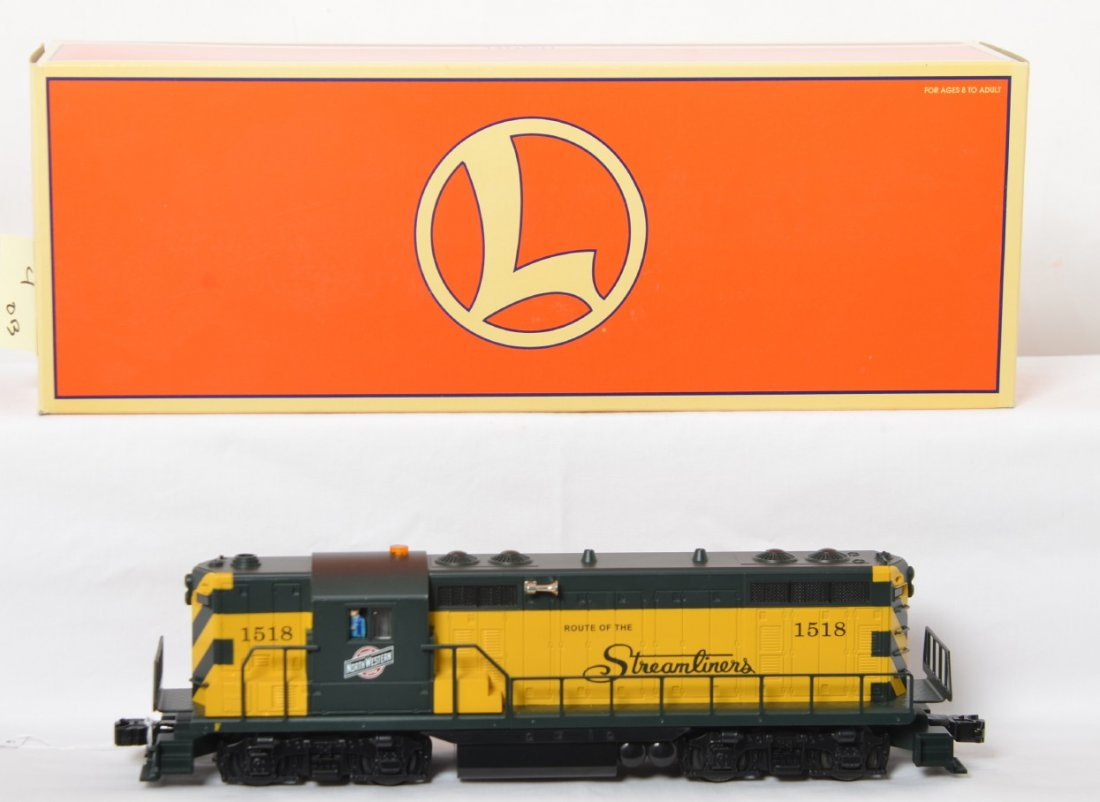 Lionel 28517 C&NW GP-7 with TMCC