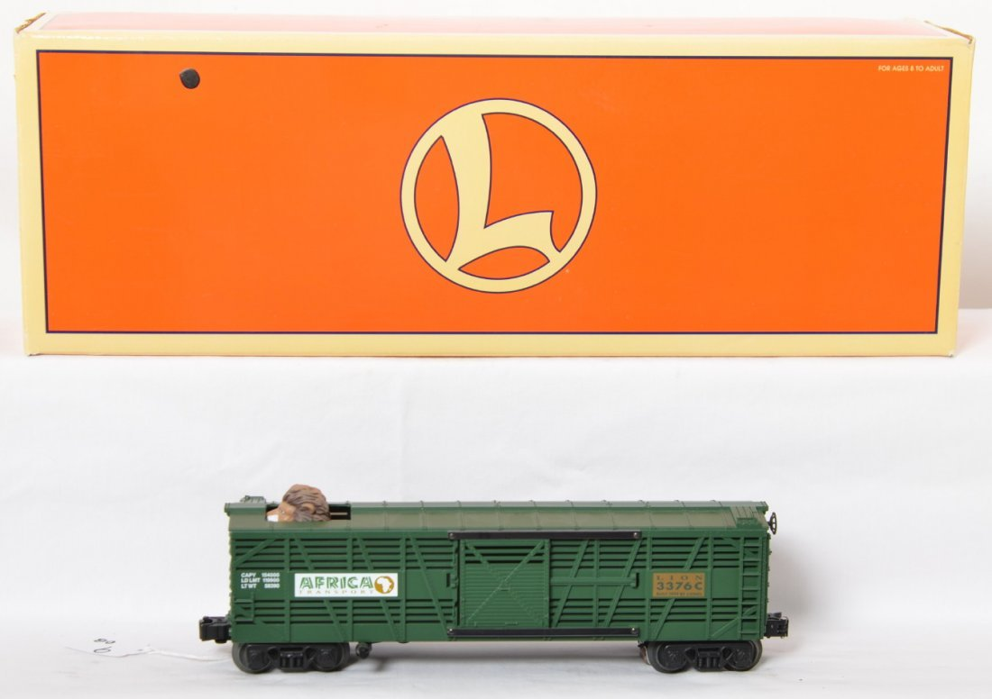 Lionel 19850 animated lion car with TMCC