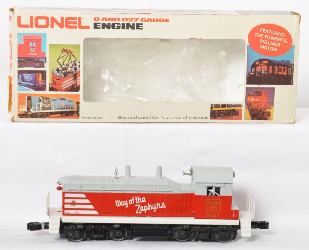 Lionel 8057 switcher upgraded with sound and TMCC