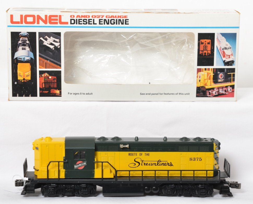 Lionel C&NW GP-7 upgraded with TMCC and Railsounds