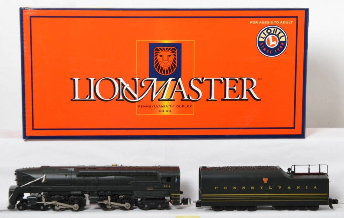 Lionel Lionmaster Pennsylvania T-1 with TMCC