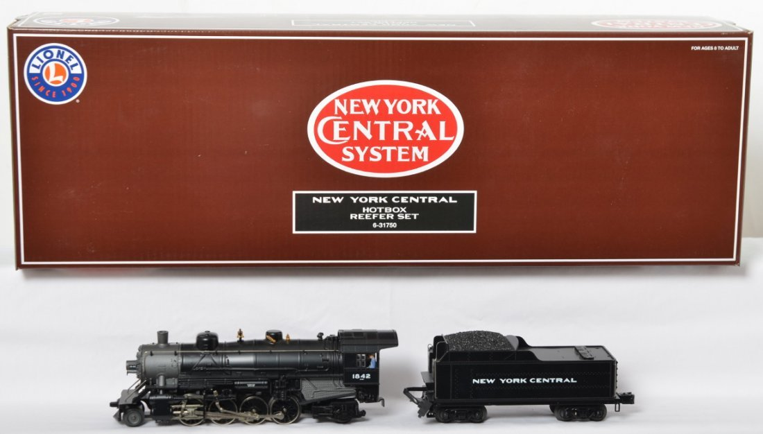Lionel NYC hot box reefer set 31750