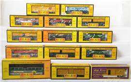 14 Railking freight cars Sinclair SF FEC etc