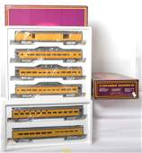 MTH 6506 6510 Union Pacific Pass Cars