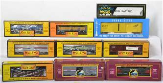 10 Railking MTH Pecos River and Weaver cars