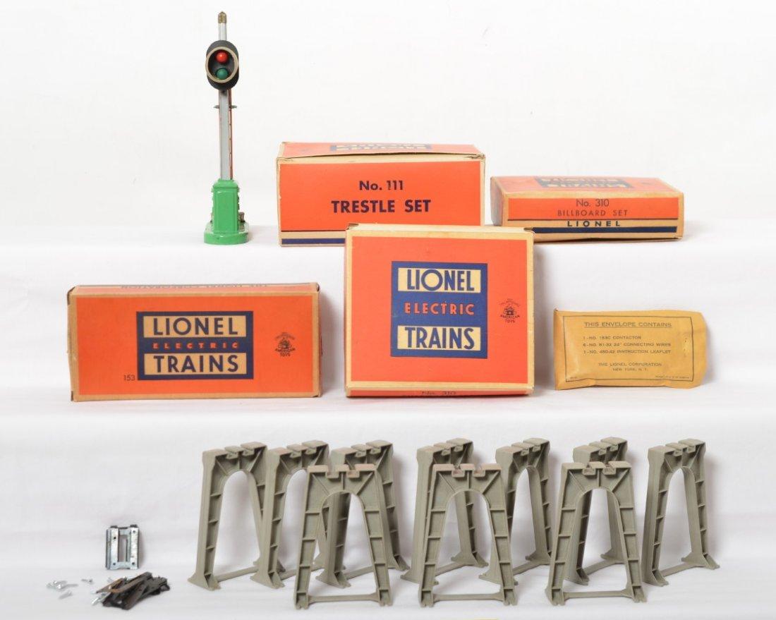 Lionel 111, 153, 310, 310 in OB, 111 no box