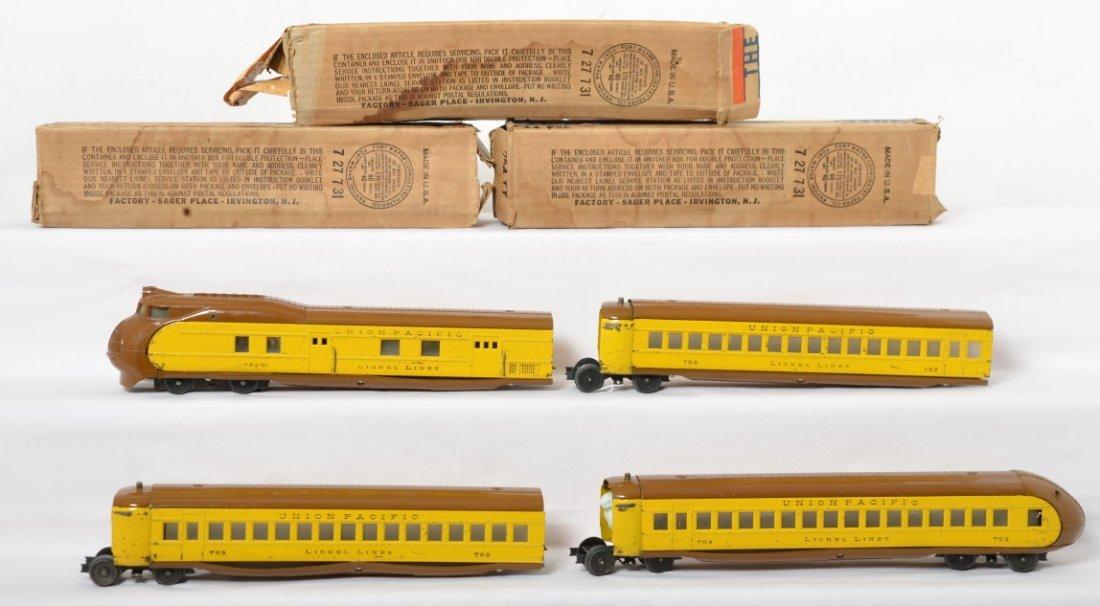 Lionel 752, 753, 753, 754 TT w/boxes City of Portland