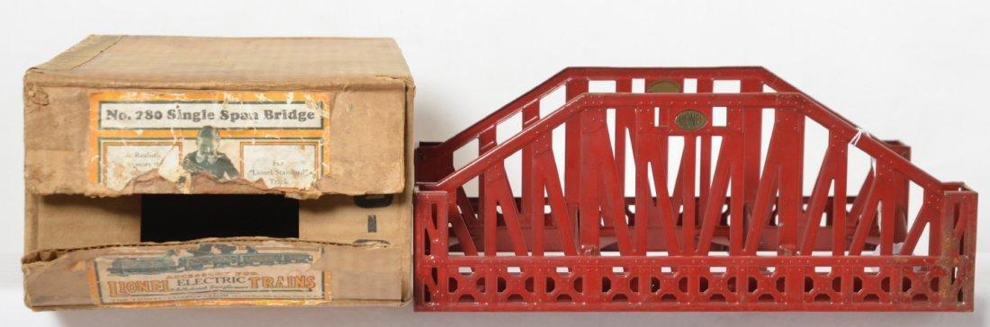 Lionel No. 280 Single Span Bridge in Original Box