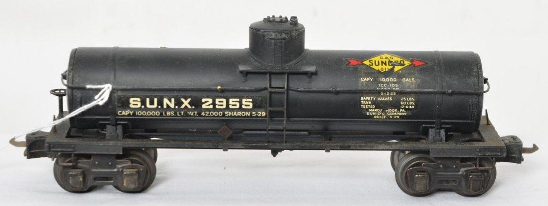 Lionel 2955 Sunoco tank car