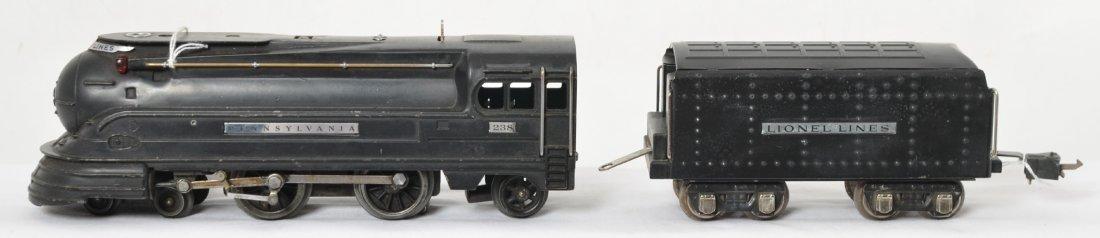 Lionel 238 Pennsylvania streamline steam loco and