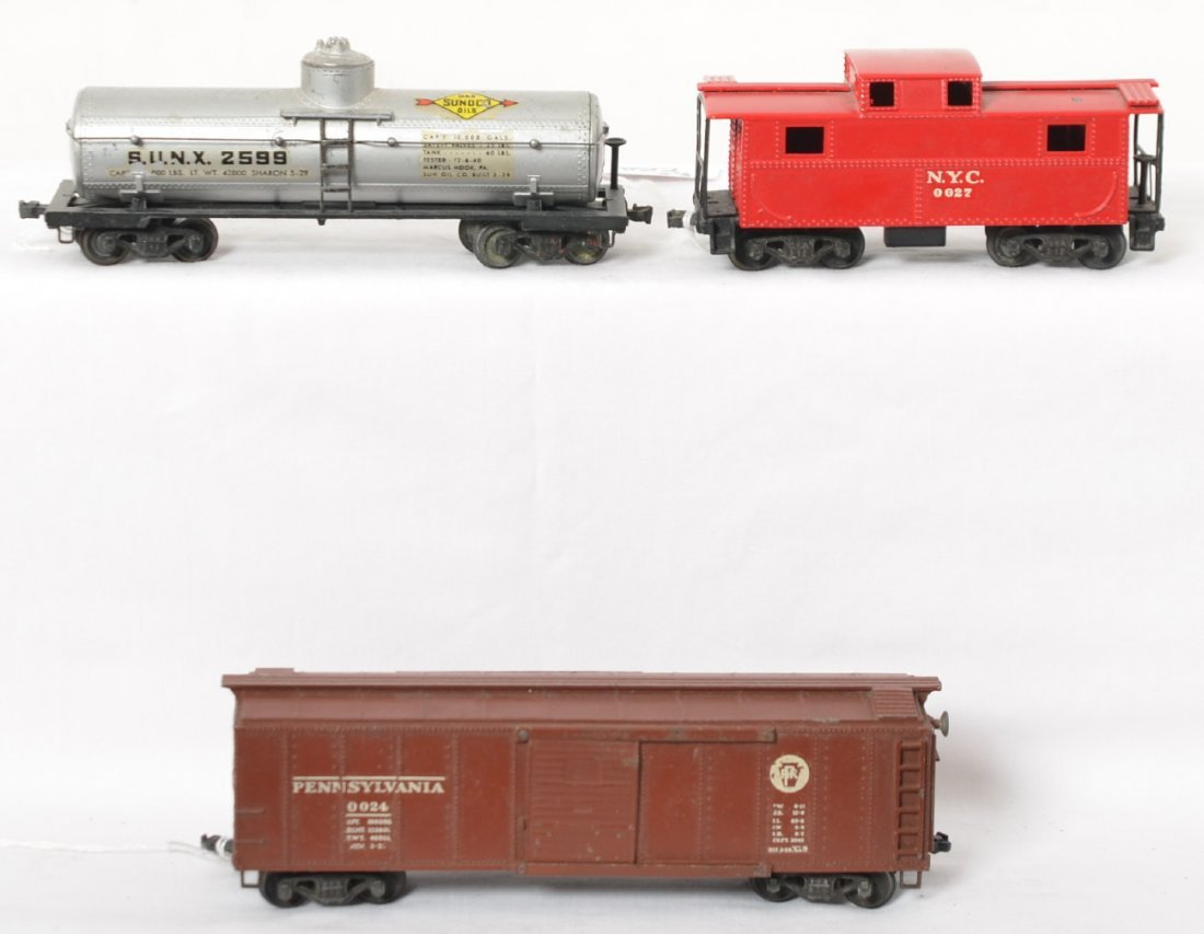Lionel 0024, 0025, 0027 OO gauge freight cars