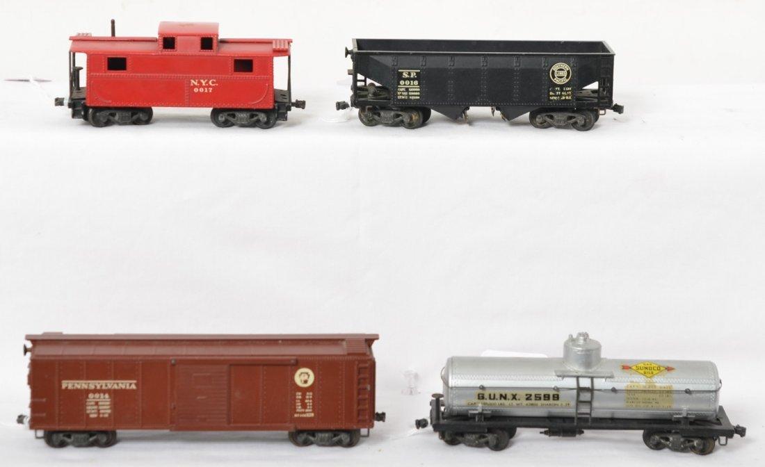 Lionel 0014, 0015, 0016, 0017 OO gauge freight