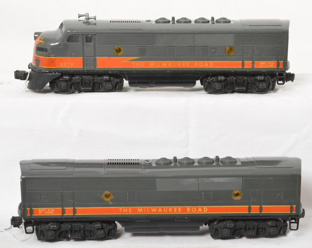 Lionel 2378 The Milwaukee Road F3 A-B units