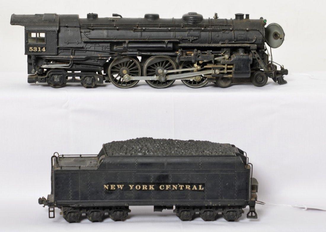 Lionel prewar 700K kit full scale Hudson, tender - 2