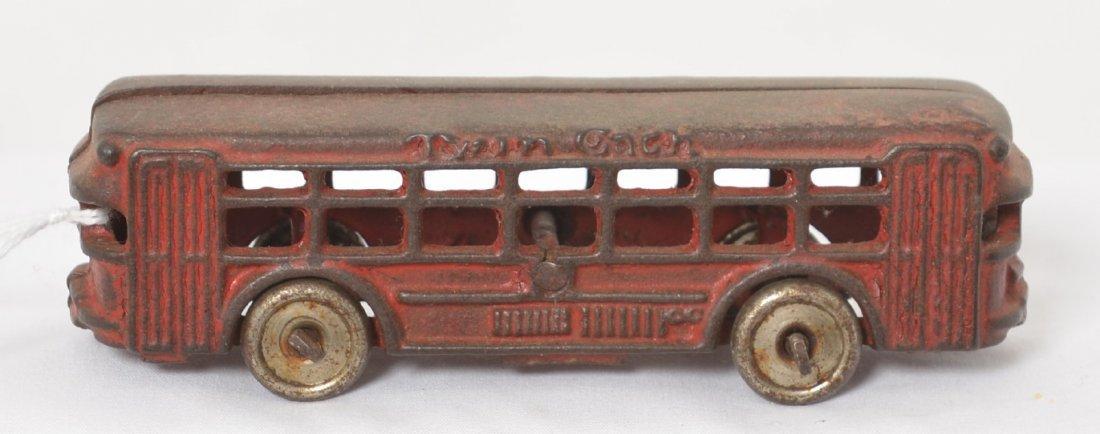 Cast iron Twin Coach city/passenger bus 5î steel wheels
