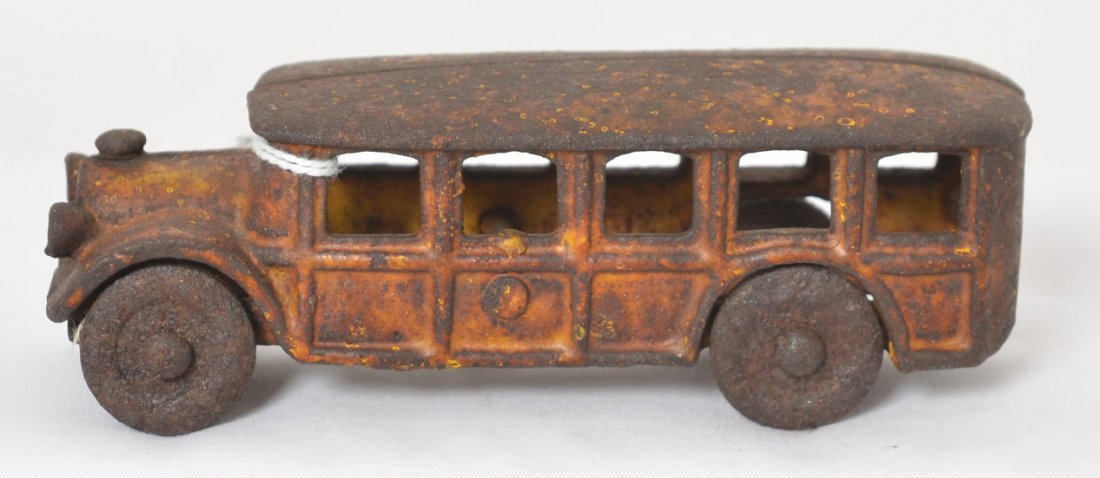 Cast iron early bus, school, city, passenger?, 5î steel