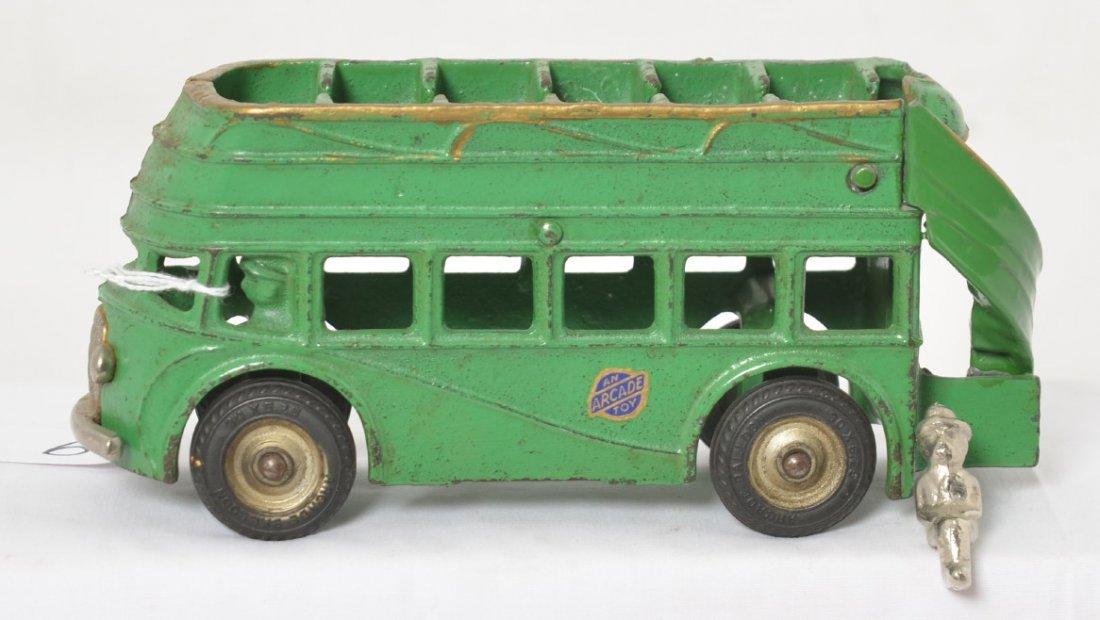 Arcade 318 double decker bus with one steel rider