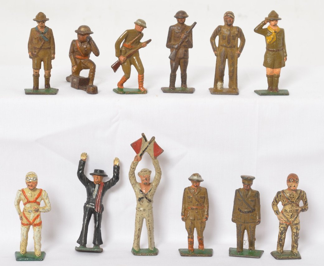 Twelve Grey Iron? military soldiers, scouts, cowboy