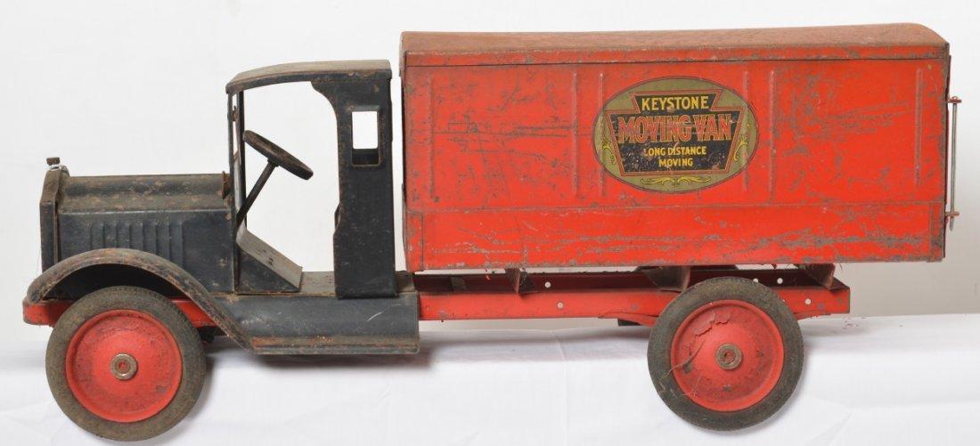 Keystone Moving Van Long Distance Moving Packard