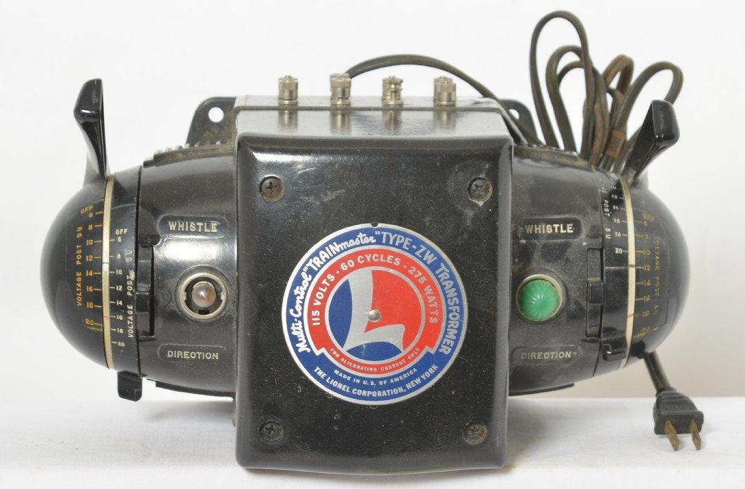 Lionel 275 watt ZW transformer