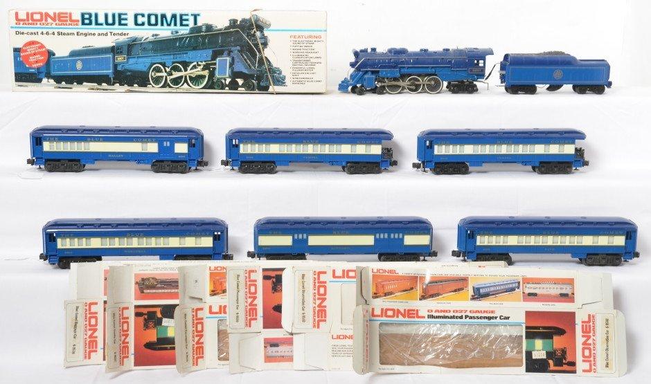 Lionel Blue Comet 8801 9536 9537 9538 9539 9540