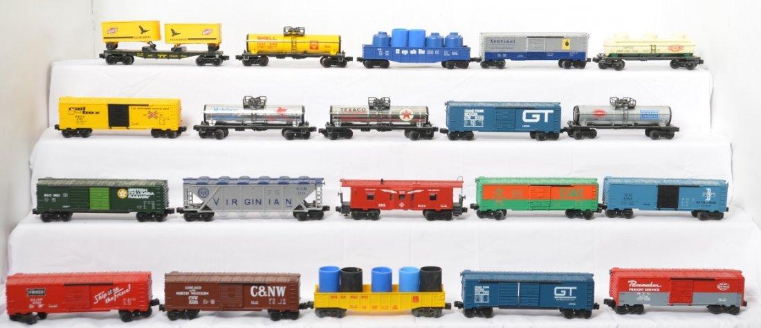 20 Lionel freight cars 9754, 9147, 9148, 9134, etc.