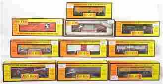 10 Railking freight cars IC SF UP Soo etc