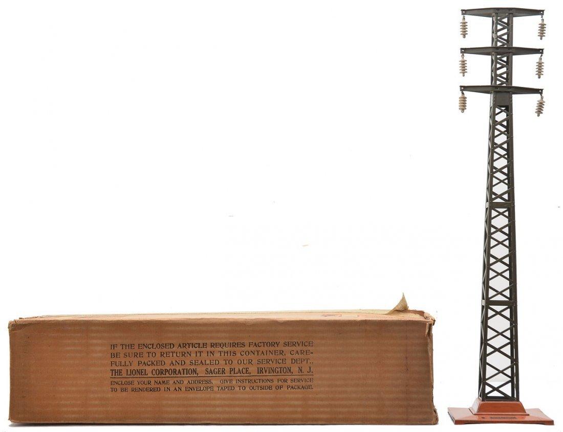 Lionel 94 Gunmetal High Tension Tower OB