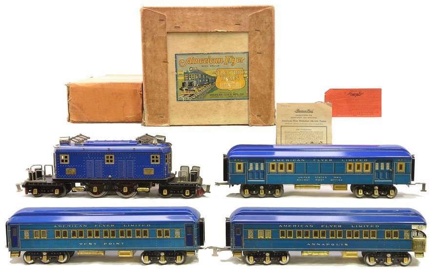 Am Flyer Blue Litho Presidential Special Set 1466
