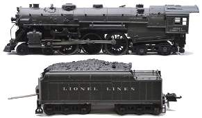 Lionel 763E Gunmetal Loco 2226WX Coal Pile Tender