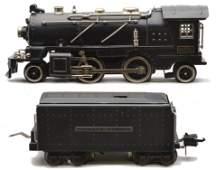 Lionel Prewar 262E Steam Loco 2225W Tender