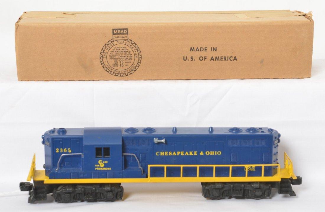 Lionel Chesapeake and Ohio 2365 GP-7 with box