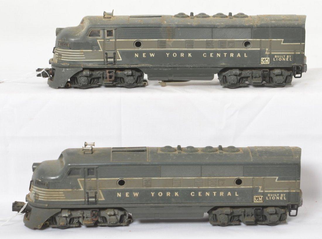 Lionel 2344 NYC F3a diesel locomotives
