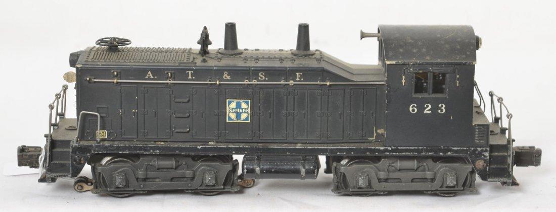 Lionel 623 Santa Fe NW-2 diesel switcher