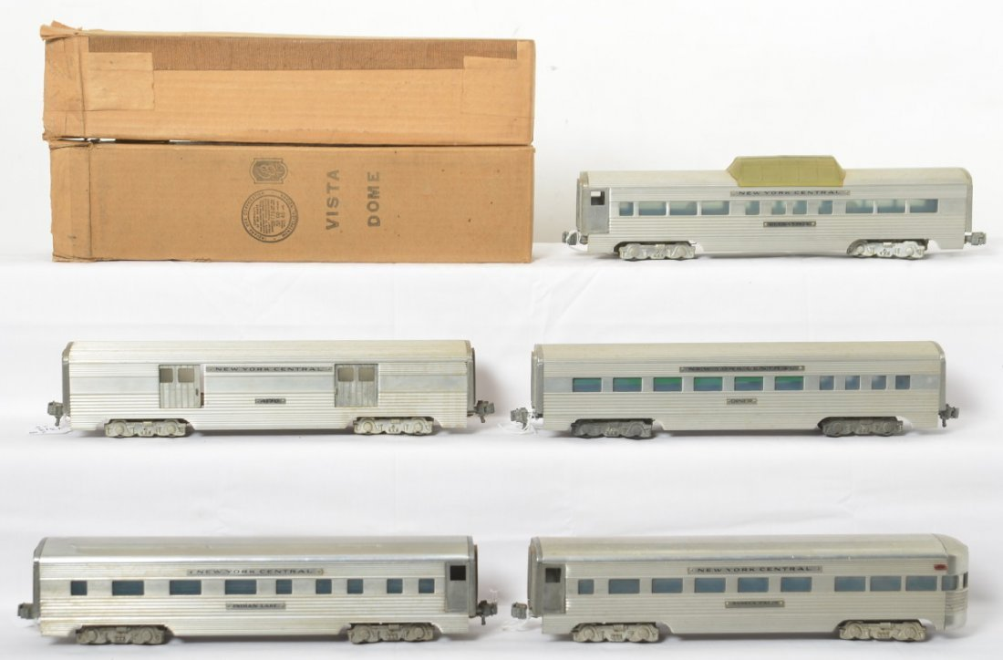 Five American Model Toys NYC passenger cars