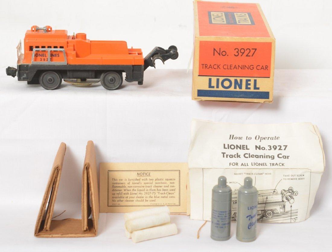 Lionel 3927 track cleaning car in original box